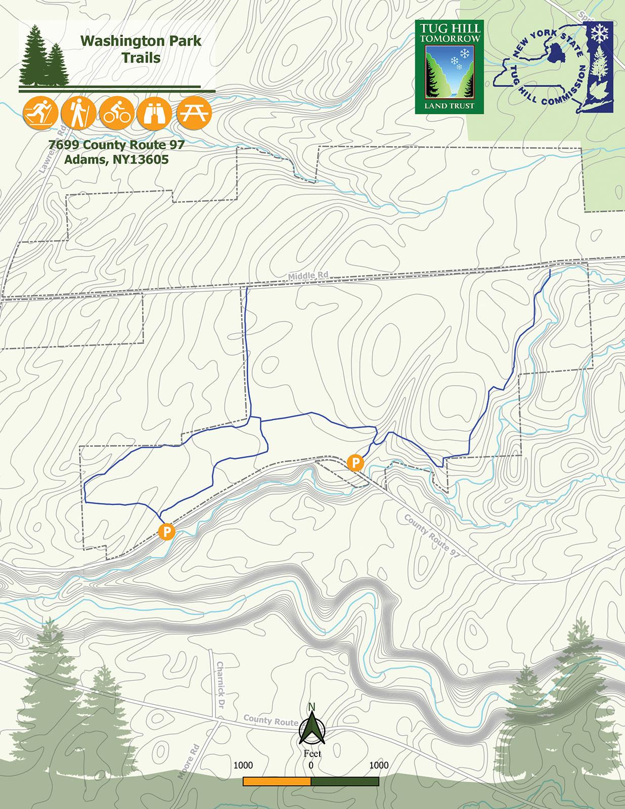 Washington Park Map